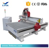 smart and strong enough multi spindle 3d cnc router / cnc router / cnc woodworking machine / cnc router machine 1500*3000mm