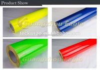 1.06*33m PVC Material Super Quality Fluorescent Film Glow In The Dark Vinyl