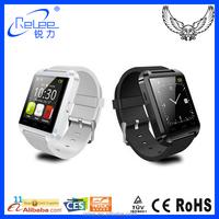 Cheap wholesale mobile phone bluetooth U8 smart watch 2015