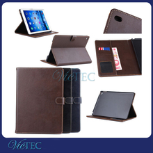High quality wholesale genuine leather shockproof case for tablet ipad air 2