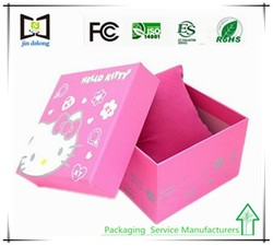 Shenzhen Supplier Manufacture Printing Small product packaging box paper