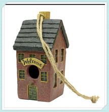 resin figurine craft hanging bird nest