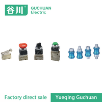 pneumatic component MOV/JM mechanical valve manifold hand slide valve HSV-10