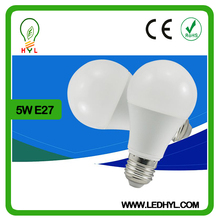 low price and MOQ warm white 550 lumen led bulb