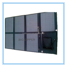 Factory price 80W outdoor foldable solar panel
