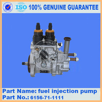 Replacement part of PC400-7 engine SA6D125E fuel injection pump 6156-71-1111 competitive price