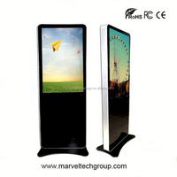 Stand alone indoor wireless wifi indor ad display