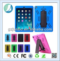 Shockproof 10 inch tablet pc silicone case for ipad air