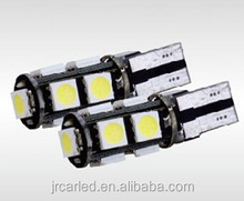 Factory direct sale high power good qualiti auto t10 9bulbs led light 9SMD