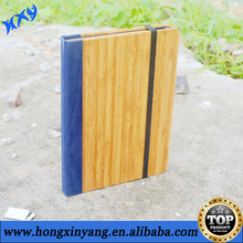natural book pattern wooden stand cover case for iPad2/3/4