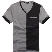 Custom T Shirts/OEM Factory Printing Cotton T Shirt/V-neck T Shirts