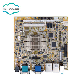 Mini-itx SBC soporta Intel Celeron de doble núcleo N2807 (4,3 W) VGA/DVI/desplazados internos Dual Realtek GbE PCIe, USB 3,0,
