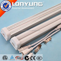 linear 1-8ft 8-60w t5 led auto dashboard light T5 LED Integrative Double Tube ETL DLC TUV SAA