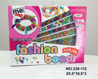Fashion Cheap Wholesale Plastic Beads Bracelets Toy For Beauty Girl