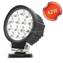 "Factory direct 4"" led driving light 42W LED work light off road round led light"