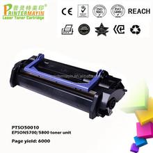 Printer Consumable Black Toner Cartridge Parts FOR EPSON5700/5800 toner unit (PTSO50010)