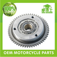 Back stop one way running 20 roller cg200 motorcycle starter clutch for honda