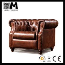 Luxurious italian leather sofa vintage Antique furniture