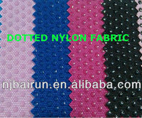 900D Imitated nylon/ballistic nylon fabrics with PVC DOTS fabric for bags