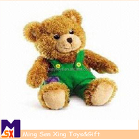 2014 china new high quality cute giant large stuffed teddy bear animals with clothes