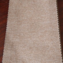2015 new beige blackout window curtain fabric for custom draperies
