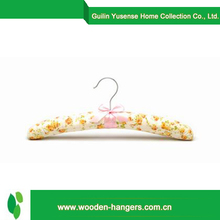 Buy wholesale from china satin closet padded hanger