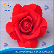 Pinch Corner PE Foam Rose Flowers Artificial flower Head Flower Ball FOR Wedding Candy Box DIY Decorative Accessories