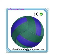 SGY-0945 China factory directly wholesales neoprene volleyball ball size diameter