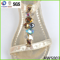 wholesale shoe jewelry renqing factory own brand for sandal ornament