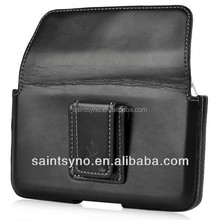13016 Cowhide funny attached to the belt mobile phone case
