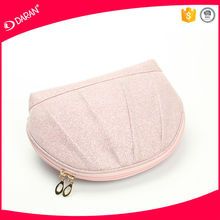 Mesh fabric cosmetic bag, online shopping travel make up bag