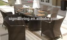 2015 nueva llegada de buena calidad al aire libre muebles de comedor mesas