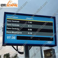 Impermeable y de alta luminosidad exterior LCD muestra
