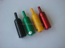 wine bottle shape 2gb usb flash drive with custom logo