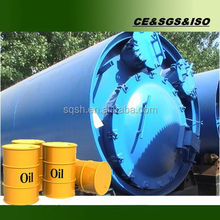Latest technology! waste plastic recycling to fuel oil equipment with high oil yield