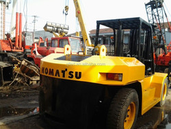 good working condition forklift komtsu 15Ton for sale