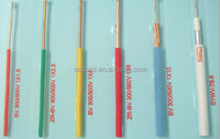 PVC Insulated Electric Wire And Cable 0awg 2awg 4awg 6awg 8awg 10awg 12awg 14awg 16awg 18awg low voltage power cable
