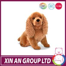 AE58/ASTM/ICTI/SEDEX Wholesale lovely custom with impressive design stuffed plush dog