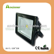 stainless steel outdoor wall lamp 50w 12 volt led flood light