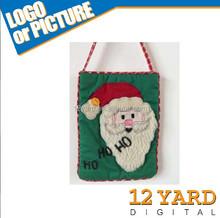 Cute Handmade Decorative Christmas biodegradable plastic food carring/ carry bags