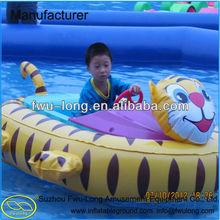 Professional Cartoon Design Inflatable Bumper Kids Aqua Boats for Sale