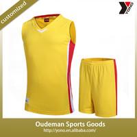 2015 New style cheap wholesale custom basketball jersey uniform design