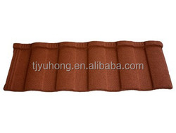 Roman Stone coated steel roofing tile