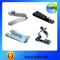 Spring steel springs clips,V shape spring clips,stamping V shape clips from china