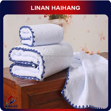 China OEM manufacture factory hot selling gift luxury brand towel