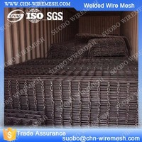 Welded Wire Mesh Animal Cages Round Welded Gabion Box Welded Wire Mesh For Sale