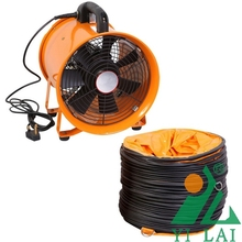industrial safety portable ventilating fan for ship or tunnel project