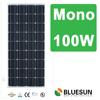 CE TUV UL full certificated mono solar panel 100w 12v cheap price