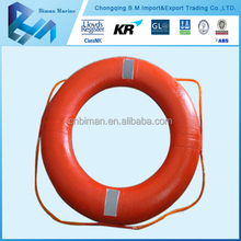Types of CE Approved Orange Life Buoy For Life Raft