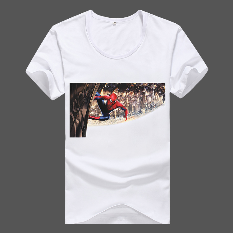 Wholesale cheap wholesale white short sleeve wih printed t Cheap plain white shirts